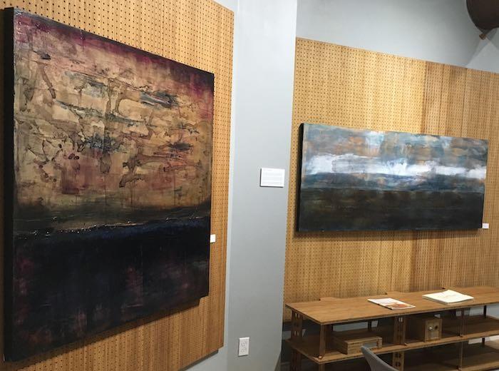 2 paintings by Rheni Tauchid