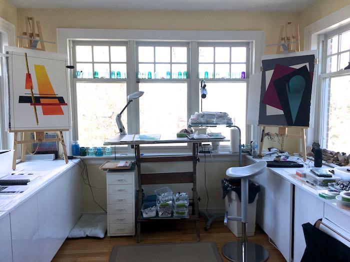 Vera Bobson's Toronto studio, copyright 2018 Lynn Wyminga