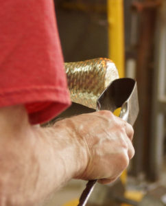 Jacks - tool - glass blower Mark Armstrong of Armstrong Glassworks in Wellington, ON